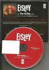 EISLEY The Valley 2011 USA PROMO Radio DJ CD Single MINT w/ KATE BUSH mention