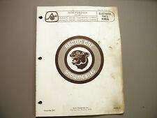 1974 Vintage Arctic Cat Panther Parts Manual