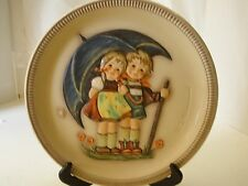 Vintage Hummel First Edition Anniversary Plate 1975 Goebel Stormy Weather