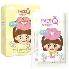 FaceQ Face Q Peony X Snow Lotus Firming Mask (NIB 10ct) - US Seller, Fast Shippi