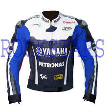 YAMAHA JORGE LORENZO MOTORBIKE /MOTOGP/MOTORCYCLE LEATHER JACKET