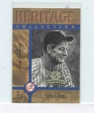 LOU GEHRIG 2003 Donruss Diamond Kings Heritage Collection #2 New York Yankees