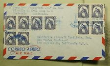 New listing Dr Who 1960S Guatemala To Usa Block Air Mail C156478