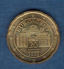 Autriche 2002 - 20 centimes d'Euro