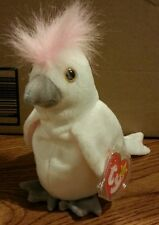 1996 Ty Beanie Babies Kuku the cockatoo Perfect Condition!