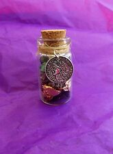 Witch Bottle spell Kit for Wealth & Money Magical Herb Spell Talisman