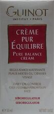 Guinot Creme Pur Equilibre / Pure Balance Cream - 50 ml / 1.8 oz (New In Box)