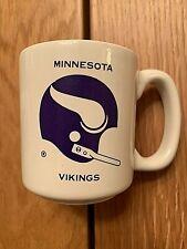 Vintage Chase & Sanborn  NFL Minnesota Vikings Coffee Mug / Cup Nice
