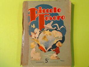 PICCOLO TESORO SUSSIDIARIO 5^ CLASSE ATLAS 1952