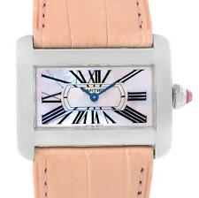 Cartier Tank Divan Large Stainless Steel Watch W6301455