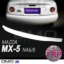 Mazda MX-5 Miata NA 89-98 OKAMI Type-2 Ducktail Rear Spoiler FRP