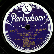 Harry James Orch. Two O 'clock jump/' Taint what you do GOMME LAQUE PLAQUE x2227
