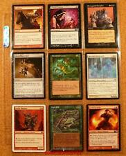 9 x MAGIC THE GATHERING TRADING CARDS MIXED EDITIONS #52
