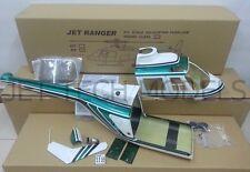 FUNKEY Scale fuselage  Jet Ranger .50 (600) size Green COLOR NIB