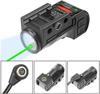 Green Dot  Laser Sight & Flashlight Laser Combo with Rechargeable Battery US