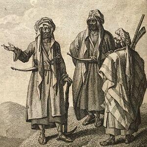 VOYAGE DE L'INDE A LA MEKKE 1797 Louis-Mathieu Langlès GRAVURES