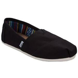 TOMS Classic Slip On Canvas - Various Women's Sizes - Black, Navy, or Ash