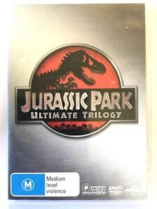 Jurassic Park Ultimate Trilogy DVD - 3 Movies