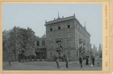 Allemagne, Bad Nauheim, Sprengel's Park-Hôtel Vintage print.  Photomécani