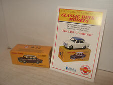 Atlas New Sealed Dinky Toys No 531 Fiat 1200 Grande Vue and Certificate