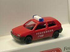 Wiking VW Golf III Feuerwehr - 0934 05 - 1/160