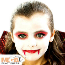 Vampire Make Up Kit Fancy Dress Halloween Dracula Costume Facepaint Accesory New