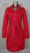 Tommy Hilfiger women's fall tailored trench coat pink M new