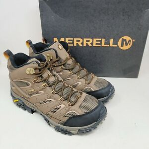 Merrell Moab 2 Mid GTX Mens Hiking Boots Shoes Earth J06063 Size 11 M