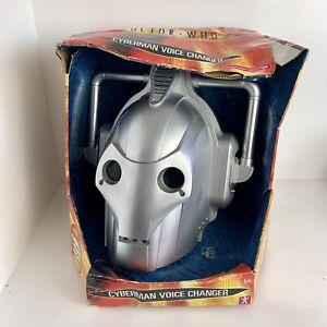 Doctor Who Cyberman Helmet Mask Boxed Prop - Not Working