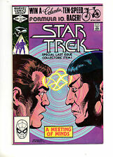 Star Trek #18 Marvel 1982 LOW PRINT RUN! VF+ 8.5 TOUGH BRONZE BOOK! Spock! Kirk!