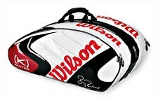 NEW Wilson K Factor Six-One Tour 90 Limited Edition Tennis Bag ROGER FEDERER MIB