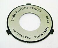Garrard AT60 AT 60 Turntable  Platter shield p.