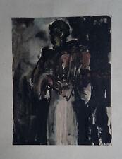 "JAN DARNA (1901/1974) Encre  "" COMPOSITION  ""  -  Cachet"