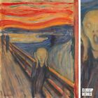 """34""""x42"""" THE SCREAM by EDVARD MUNCH FAMOUS TWILIGHT EMOTIONAL TERROR Repro CANVAS"""