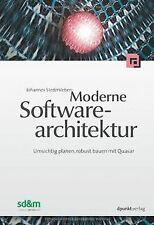 Moderne Software-Architektur: Umsichtig planen, robust b... | Buch | Zustand gut