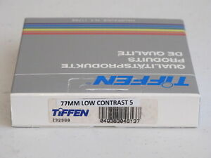 77mm - Tiffen LOW CONTRAST 5 filter NEW   #77m8n1