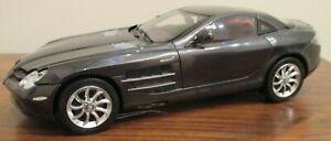 CMC 2003 Mercedes-Benz SLR McLaren. Dark metallic grey. 1/18 scale.