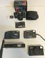 Camera job lot five vintage collectible camera's (OurcodeRP)