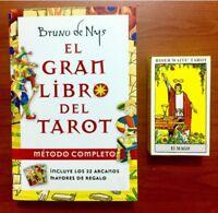 Pack EL GRAN LIBRO DEL TAROT. - 22 Arcanos by Bruno de Nys - TAROT RIDER WAITE