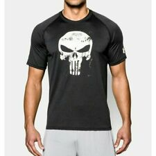 Under Armour Alter Ego Punisher Black Compression Shirt Mens NEW