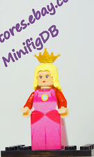 Custom LEGO minifig Super Mario Princess Peach