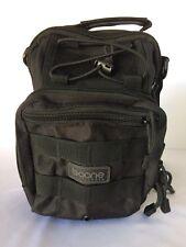 Tactical Sling Pack Backpack Shoulder Bag Black