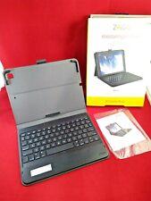 "New ZAGG Messenger Folio - Bluetooth Tablet Keyboard iPad 9.7"" (Gen 7)"