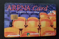 Amsterdam Arena Card 1999 25 Gulden stoeltjes