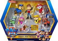 PAW Patrol Liberty Joins the Team 8 Figure Movie Gift Pack