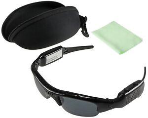 Sonnenbrille mit versteckter Spycam, Brille Spionage-Kamera 1080p HD Minikamera
