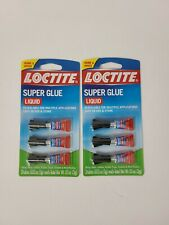New listing 2 Packages Loctite Super Glue Liquid - Home & Office - 3 Count Per Package