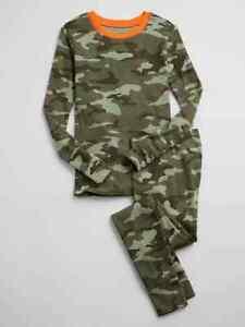 NWT Gap Kids Boys Camoflauge Camo Pajamas  organic cotton u pick size
