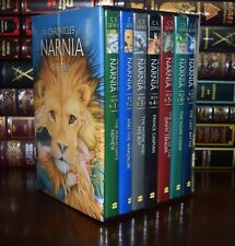 The Chronicles of Narnia by C.S. Lewis New Sealed 7 Volume Hardcover Box Set