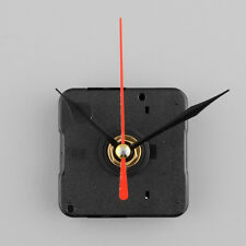 Silent Clock Quartz Movement Mechanism Red and Black Hand DIY Repair Kit Set